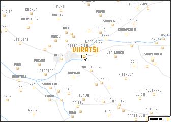 map of Viiratsi