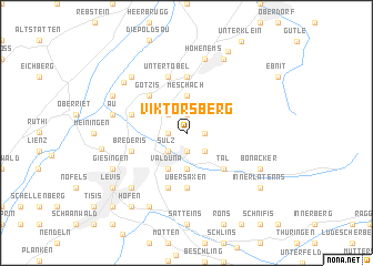 map of Viktorsberg