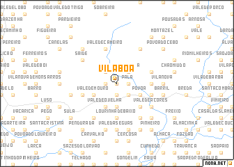 map of Vila Boa