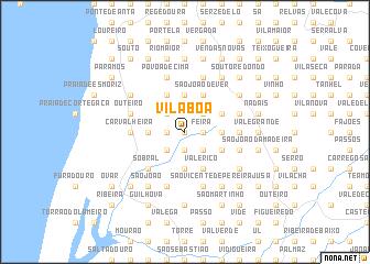 map of Vila Boa