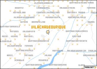 map of Vila Chã de Ourique
