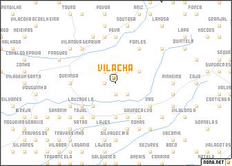 map of Vila Chã