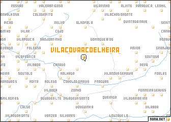 map of Vila Cova-à-Coelheira