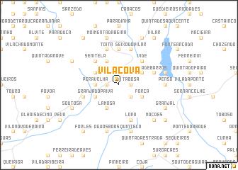 map of Vila Cova