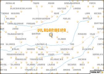 map of Vila da Ribeira