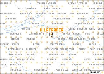map of Vila Franca