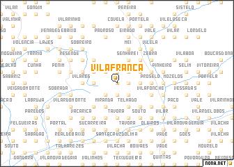 map of Vila Franca