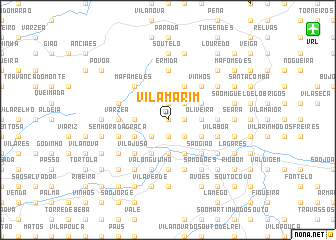 map of Vila Marim