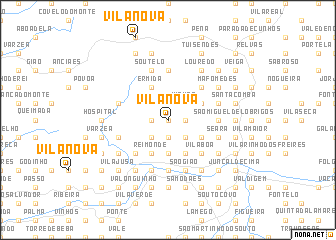 map of Vila Nova