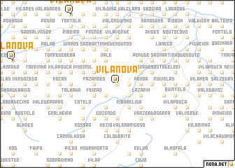 map of Vila Nova