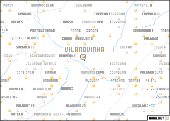 map of Vila Novinha