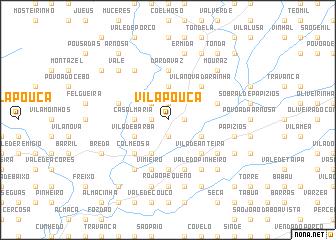 map of Vila Pouca