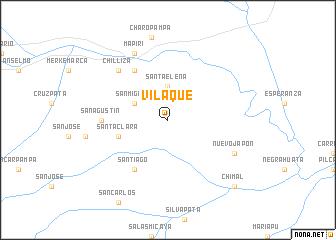 map of Vilaque