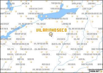 map of Vilarinho Seco