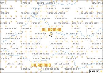 map of Vilarinho