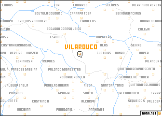 map of Vilarouco