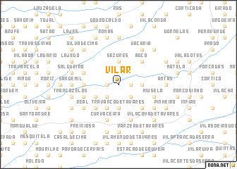 map of Vilar