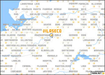 map of Vilaseco
