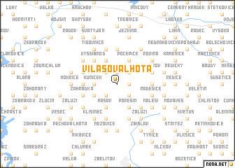 map of Vilasova Lhota