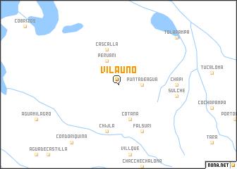 map of Vila Uno