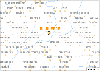 map of Vila Verde