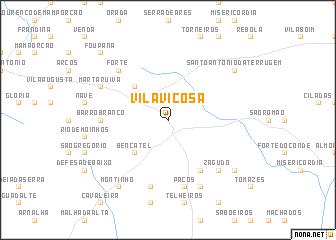 map of Vila Viçosa