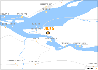 map of Viled\