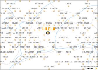 map of Vilela