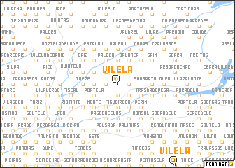 map of Vilela
