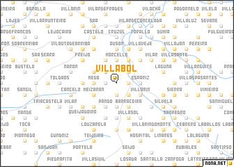 map of Villabol