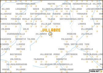 map of Villabre