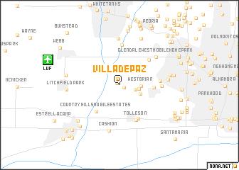 map of Villa de Paz
