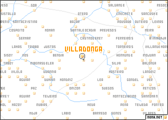 map of Villadonga
