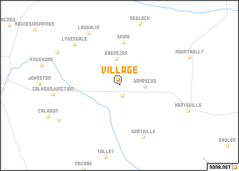 map of Village