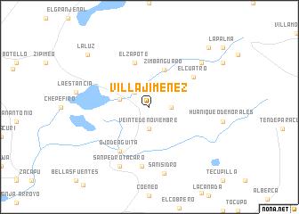 Villa Jiménez (Mexico) map - nona.net