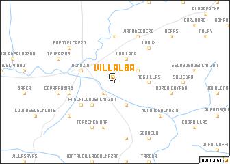 map of Villalba