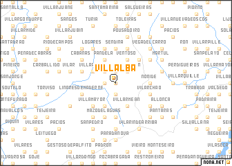 map of Villalba