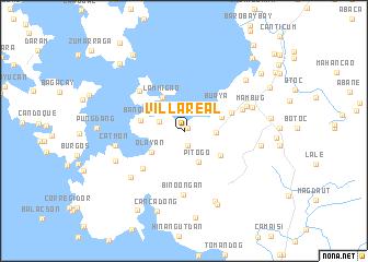 map of Villareal