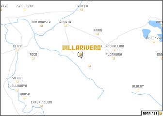 map of Villa Rivero