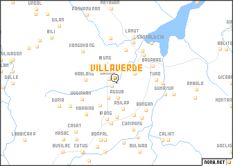map of Villa Verde