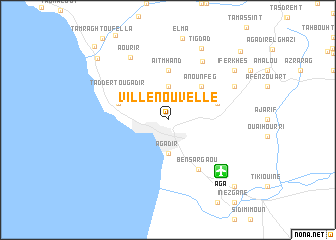 map of Ville Nouvelle