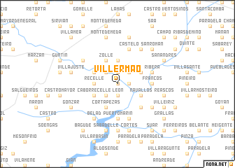 map of Villermao