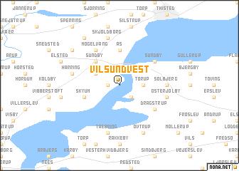 Vilsund Vest (Denmark) map - nona.net