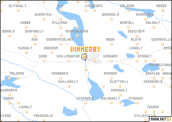 map of Vimmerby