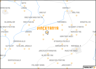 map of Vincetanya