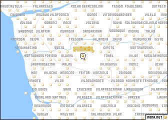map of Vinhal