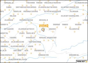 map of Vinhó