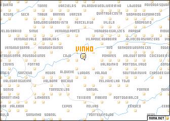 map of Vinho