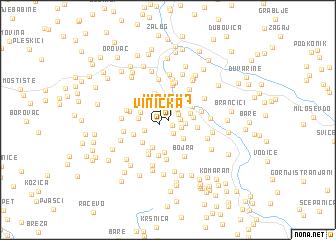map of Vinicka