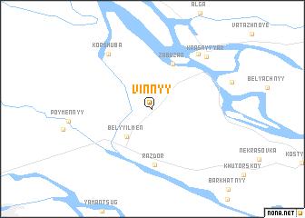map of Vinnyy